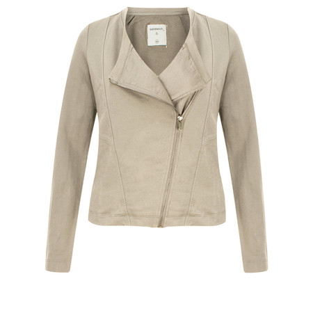 Sandwich Clothing French Terry Cotton Jacket - Beige