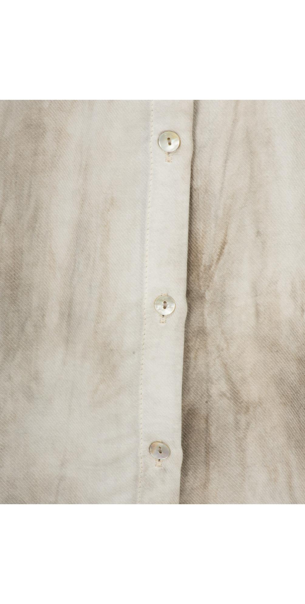 Tie Dye Long Sleeve Shirt Dress main image