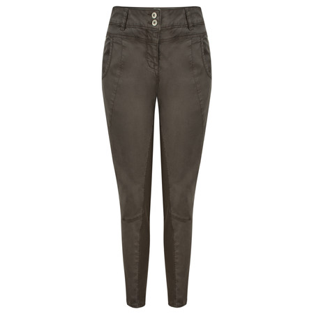 Sandwich Clothing Soft Stretch Casual Trouser - Brown