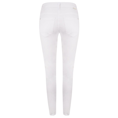 Sandwich Clothing Antic Dye Stretch Casual Skinny Trouser - White