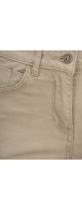 Sandwich Clothing Essential High Waist Cropped Trouser Pebble Sand