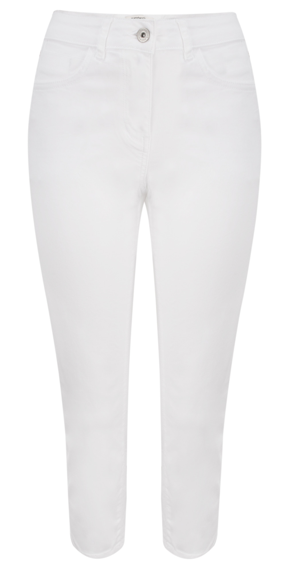 Essential High Waist Cropped Trouser main image