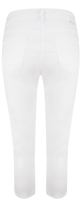 Sandwich Clothing Essential High Waist Cropped Trouser Pure White