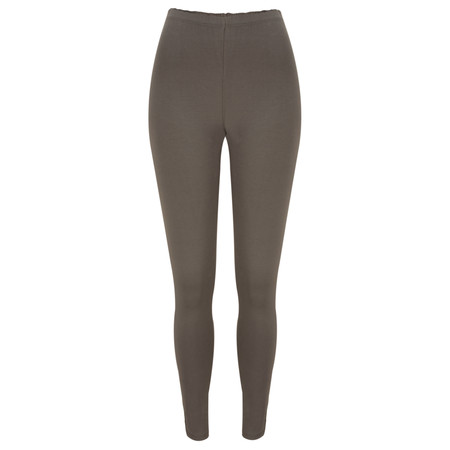 Sandwich Clothing Essential Stretch Jersey Legging - Brown
