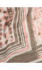 Sandwich Clothing Blush Dot Print Scarf