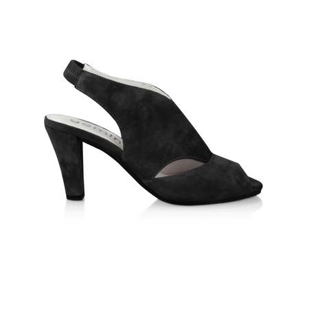 Gemini by GDF Valencia Sandal Shoe - Black