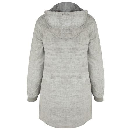Sandwich Clothing Coated Longline Jacket - Off-white