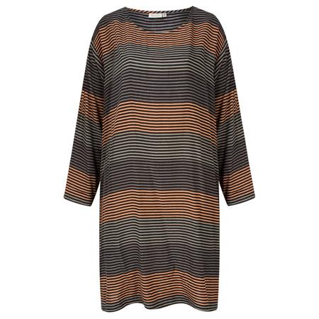 Masai Clothing Stripe Gene Tunic - Orange