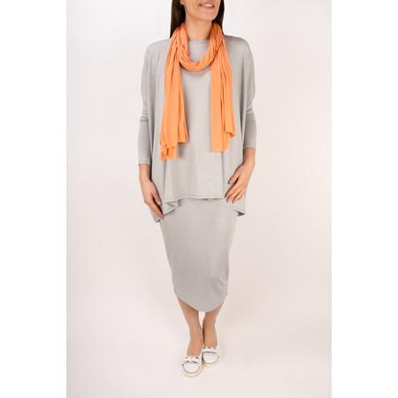 Masai Clothing Sal Pinstripe Skirt - Grey