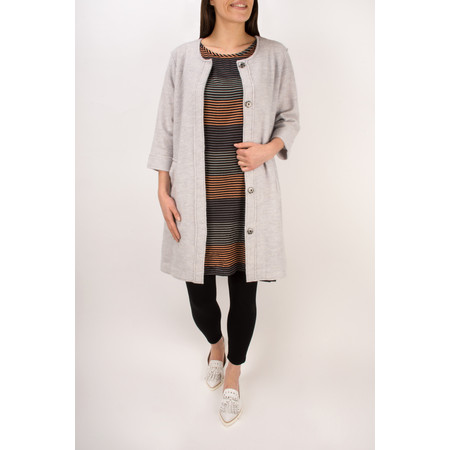 Masai Clothing Taba Wool Coat - Grey