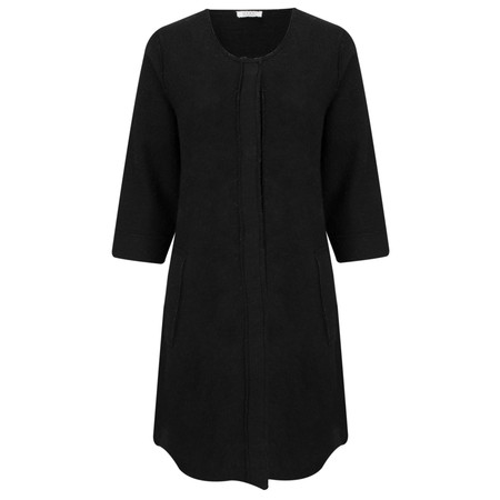 Masai Clothing Taba Wool Coat - Black