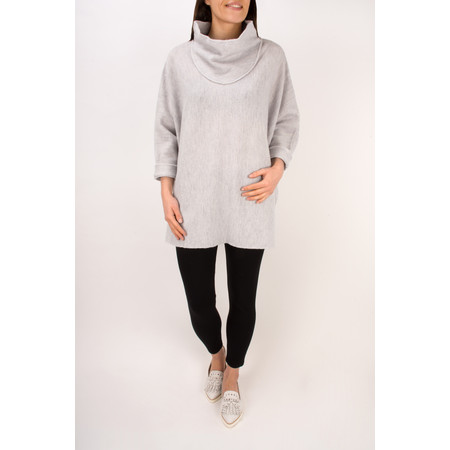 Masai Clothing Tea Oversize Poncho - Grey