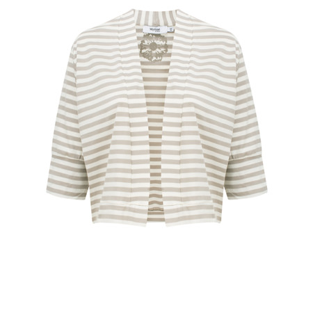 Myrine Tifany Striped Jacket - Beige