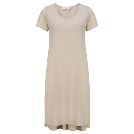 Myrine Taylor Jersey Dress - Beige