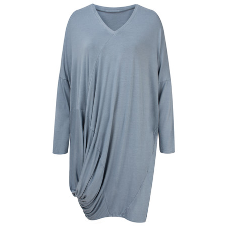 Arka Mara Easy Fit Jersey Tunic Dress - Blue