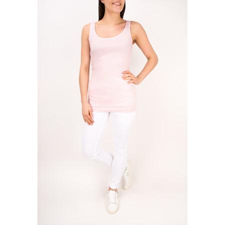 Sandwich Clothing Essentials Stretch Cotton Jersey Vest - Pink