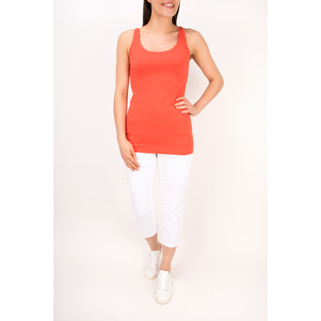 Sandwich Clothing Essentials Stretch Cotton Jersey Vest - Pink