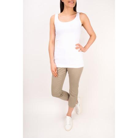 Sandwich Clothing Essentials Stretch Cotton Jersey Vest - White