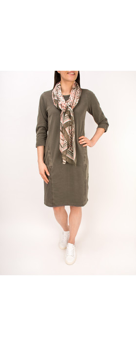 Sandwich Clothing Essential Cotton Jersey Dress Dark Wood