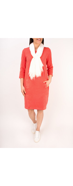 Sandwich Clothing Essential Cotton Jersey Dress Pink Rose