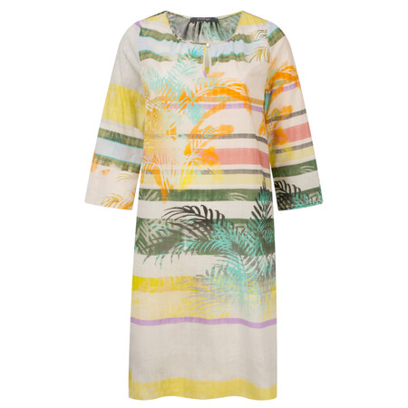 Backstage Tunika Loana Palm Beach Tunic Dress - Multicoloured