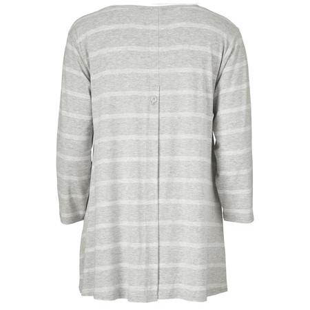 Masai Clothing Dilani Stripe Top - Grey