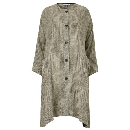 Masai Clothing Judytti Oversize Woven Jacket - Brown