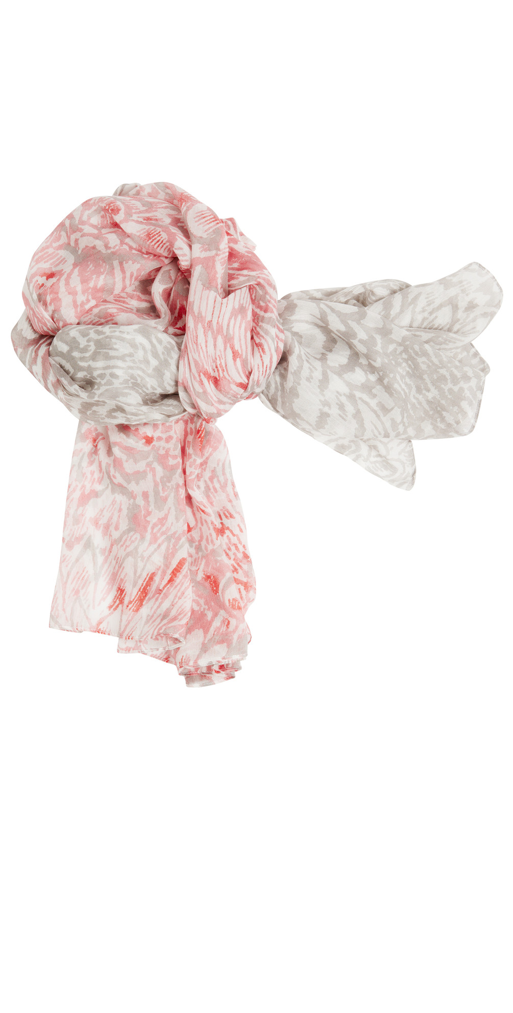 Feather Effect Woven Scarf main image