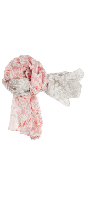 Sandwich Clothing Feather Effect Woven Scarf Pebble Sand