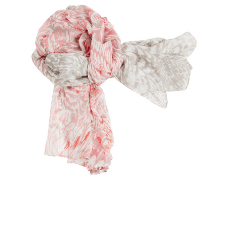 Sandwich Clothing Feather Effect Woven Scarf - Beige