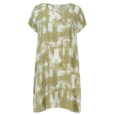 Masai Clothing Ganes Print Tunic - Green