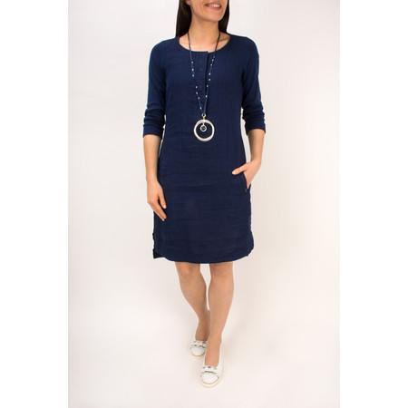 Sandwich Clothing Linen Jersey Dress - Blue