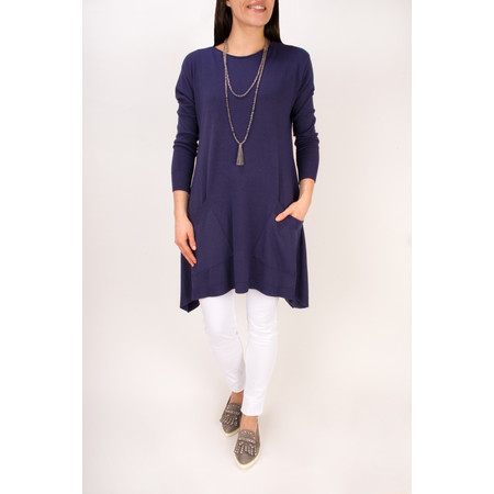 Arka Lanie Easy Fit Tunic  - Blue