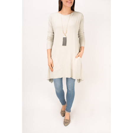 Arka Lanie Easy Fit Tunic  - Beige