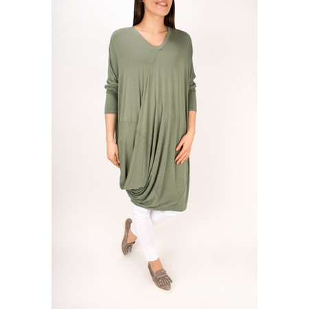 Arka Mara Easy Fit Jersey Tunic Dress - Beige