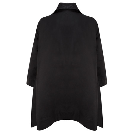 Masai Clothing Tanna Oversize Coat - Black