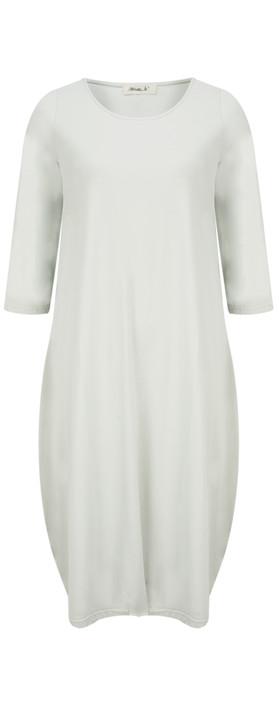 Mama B Evi Dress Elicriso-stone grey