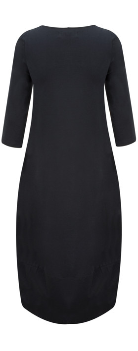 Mama B Dakota Maxi Dress Oltreblu-dark blue