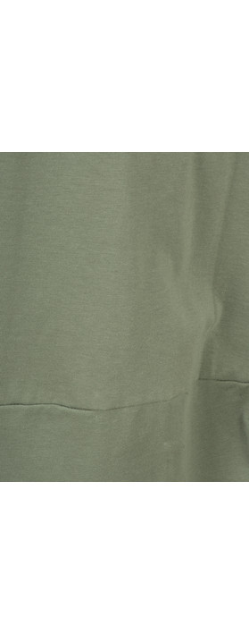 Mama B Dakota Corto Dress Salvia-dark sage green