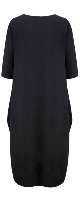 Mama B Momix Manica Dress Oltreblu-dark blue