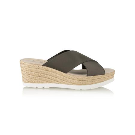 Viguera Odilie Wedge Sandal - Metallic