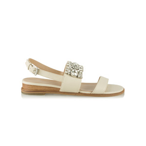 Vanilla Moon Shoes Gilly Leather Jewelled Sandal