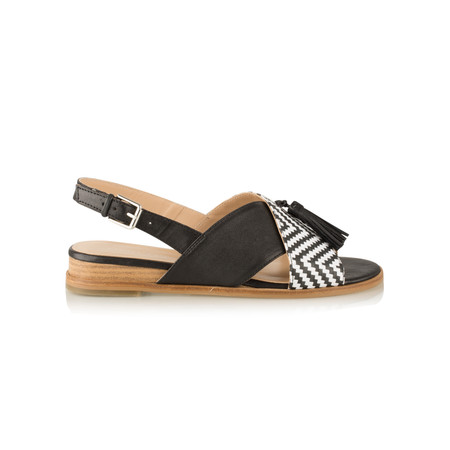 Vanilla Moon Shoes Grevit Rafia Sandal  - Beige