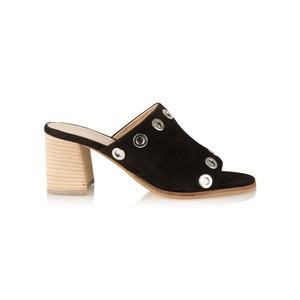 Vanilla Moon Shoes Odell Suede Prada Mule