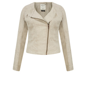 Sandwich Clothing Biker Style Linen Jacket
