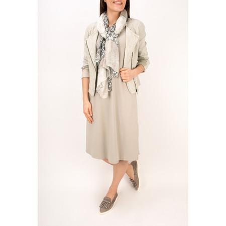 Sandwich Clothing Biker Style Linen Jacket - Beige