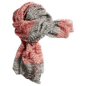 Sandwich Clothing Dotted Print Two Tone Scarf