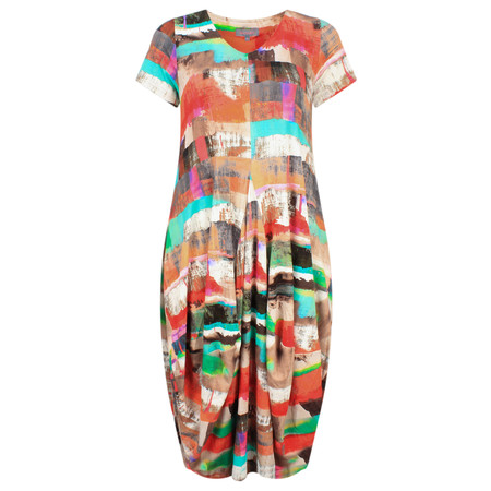 Sahara Multi Print Easy Fit Dress - Multicoloured
