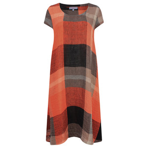 Sahara Big Check Dress