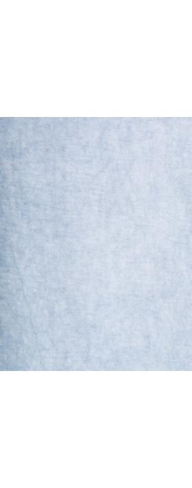 Sandwich Clothing Distressed Dye Tunic  Washed Blue